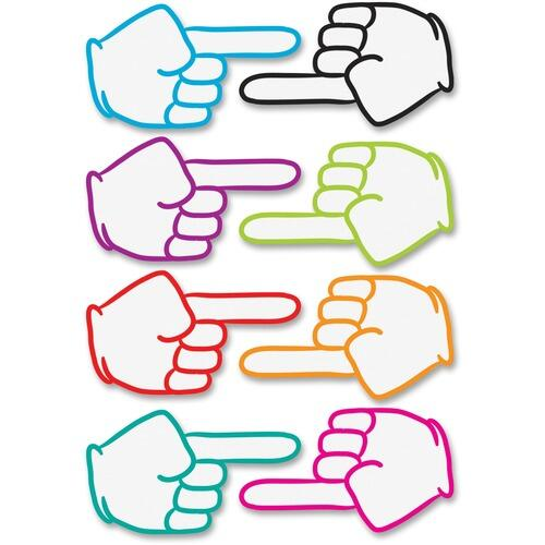 Ashley 10091 Pointing Fingers Dry Erase Magnets