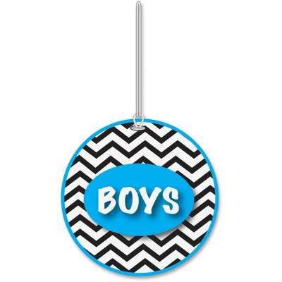 Ashley 10442 Chevron Pattern Gender Hall Pass