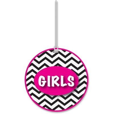 Ashley 10443 Chevron Pattern Gender Hall Pass