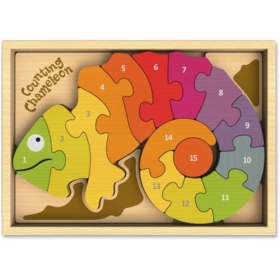 BeginAgain I1401 Counting Chameleon Puzzle