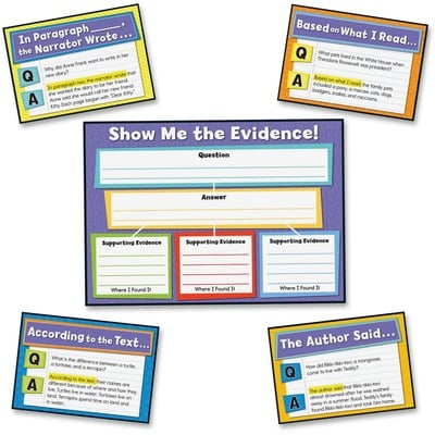 Carson-Dellosa 110290 Evidence-based Read/Write Bulletin Brd Set