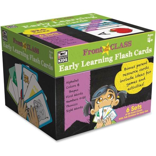 Carson-Dellosa 734062 Early Learning Flash Cards