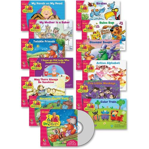 Creative Teaching Press 1375 Sing/Read Along Pack