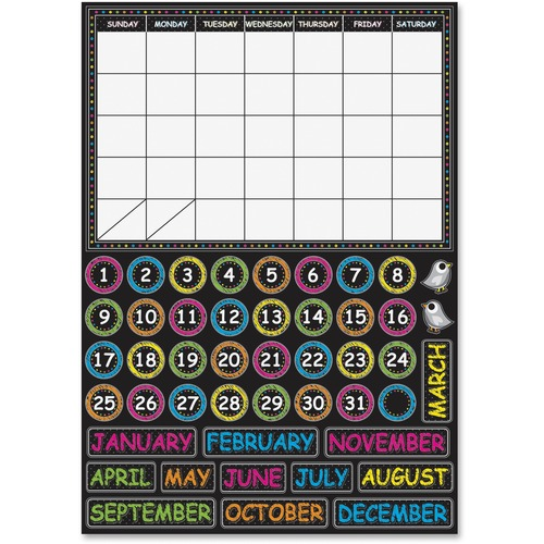 Ashley 77003 Chalkbrd Design Calendar Set