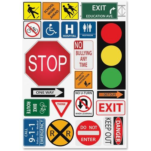 Ashley 77007 Safety Signs Design Calendar Set