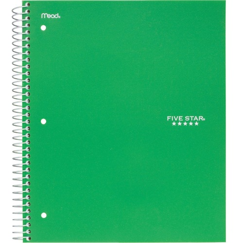 Acco 72067 College Ruled 3-subject Notebook
