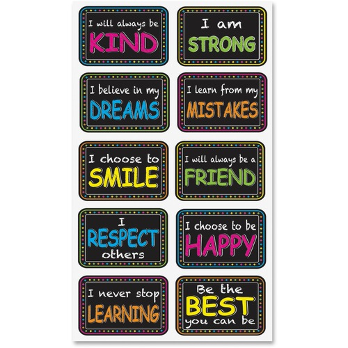 Ashley 78004 Motivation Phrase Mini Whitebrd Eraser