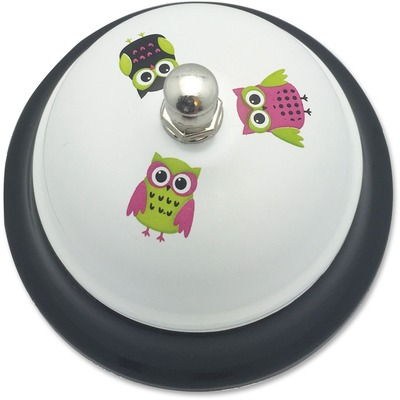 Ashley 10513 White Owls Call Bell