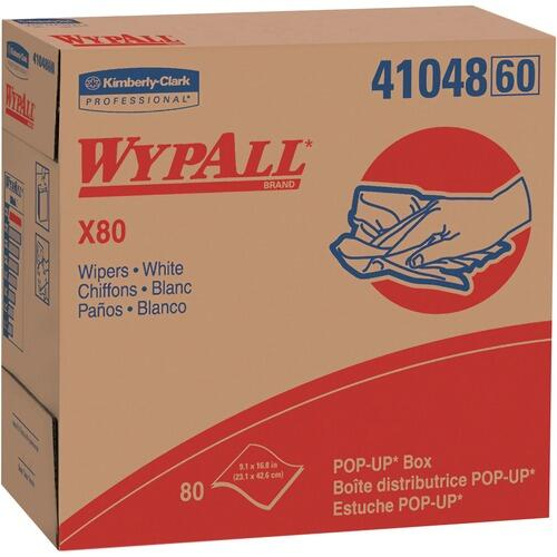 WypAll 41048CT X80 Wipers Pop-up Box