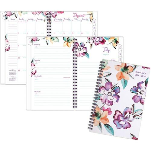 AT-A-GLANCE 1012200A June Academic Wkly Mthly Planner