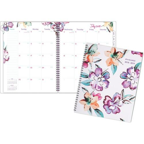 AT-A-GLANCE 1012900A June Academic Monthly Planner