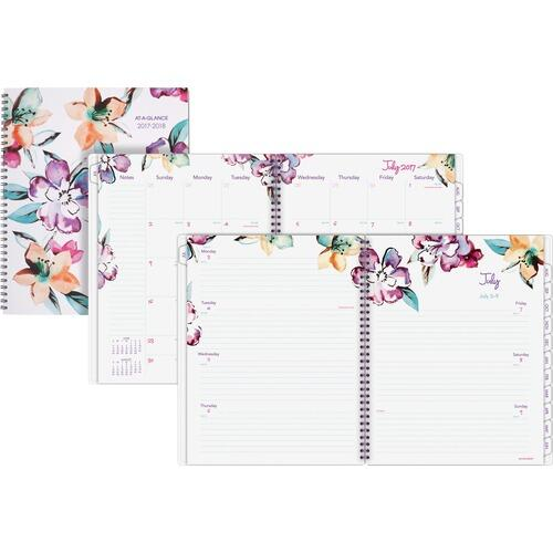AT-A-GLANCE 1012905A June Academic Wkly Mthly Planner
