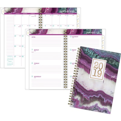 AT-A-GLANCE 1053200 Agate Weekly/Monthly Planner