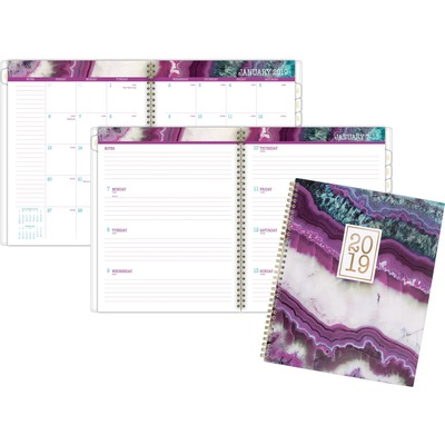 AT-A-GLANCE 1053905 Agate Wkly/Mthly Planner