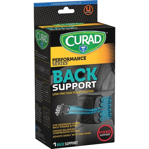 Curad CUR22700D Low Friction Pulley Back Support