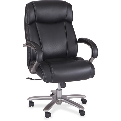 sc 1 st  Office Crave & Safco 3502BL Big u0026 Tall Leather High-Back Task Chair