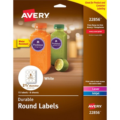 Avery 22856 Labels