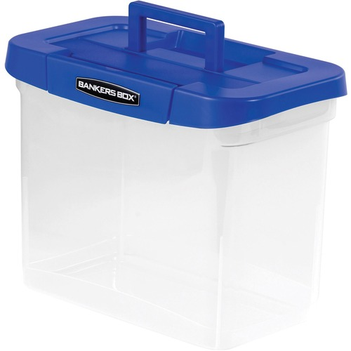 Fellowes 0086301 Bankers Box Heavy-duty Portable File Box