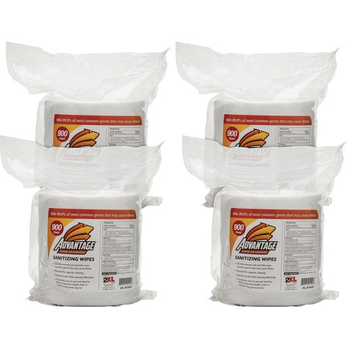 2XL L36CT Advantage Sanitizing Wipes