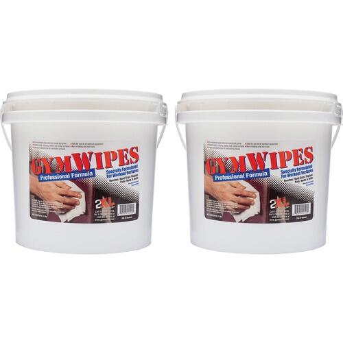 2XL L37CT GymWipes Workout Surfaces Towelettes Bucket
