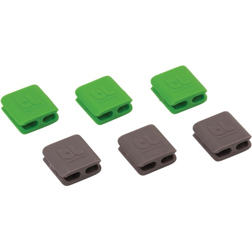 Advantus BLUCCSM BlueLounge CableClip Multi-Purpose Clips