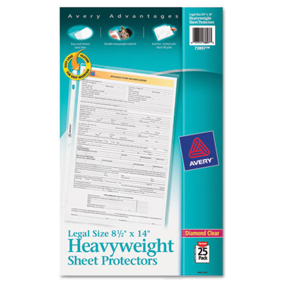 Avery 73897 Heavyweight and Super Heavyweight Easy Load Sheet Protector