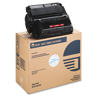 Troy 0281136001 Black MICR Toner Cartridge