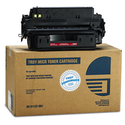 Troy 0281127001 Black MICR Toner Cartridge