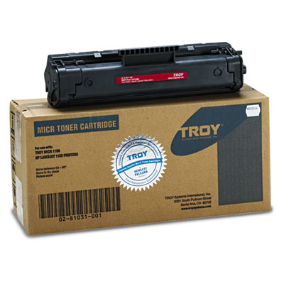 Troy 0281031001 Black Toner Cartridge