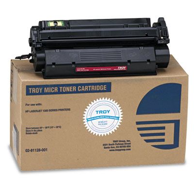 Troy 0281128001 Black MICR Toner Cartridge
