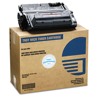 Troy 0281118001 Black MICR Toner Cartridge