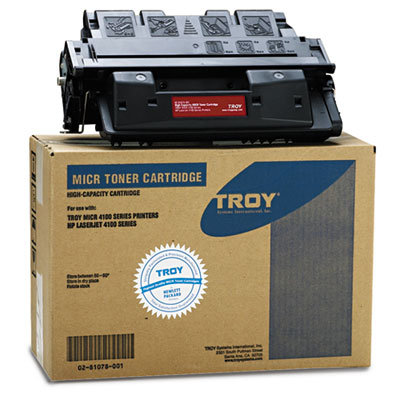 Troy 0281078001 Black Toner Cartridge