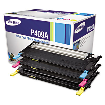 Samsung CLT-P409A Cyan Magenta Yellow Toner Cartridge