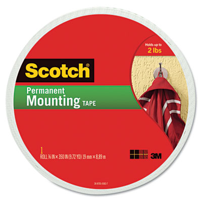 3M 110LONG Scotch Permanent High-Density Foam Mounting Tape