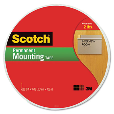 3M 110MR Scotch Permanent High-Density Foam Mounting Tape