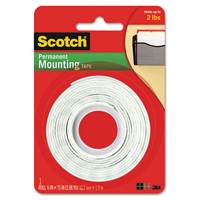 3M 110 Scotch Permanent High-Density Foam Mounting Tape