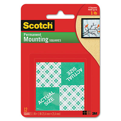3M 111 Scotch Permanent High-Density Foam Mounting Tape