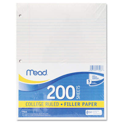 Mead 17208 Economical Filler Paper