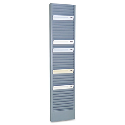 Mmf 20601 SteelMaster Swipe Card/Badge Rack