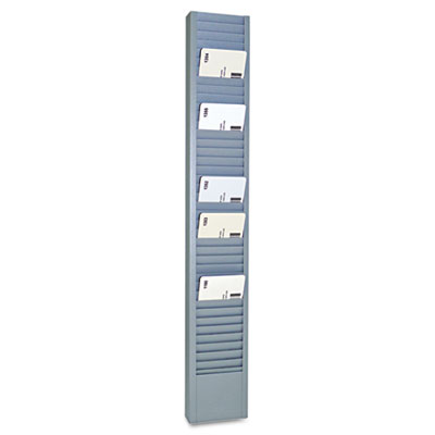 Mmf 20501 SteelMaster Swipe Card/Badge Rack