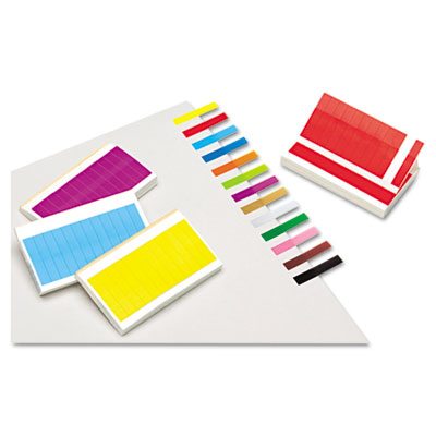 Redi-Tag 20202 Removable/Reusable Small Rectangular Page Flags