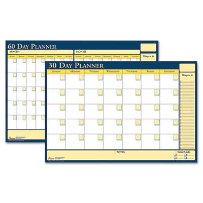 AbilityOne 2074058 SKILCRAFT 30-Day/60-Day Undated Reversible/Erasable Flexible Planner