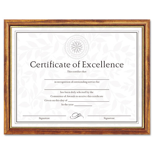 DAX N17981MT Two-Tone Document/Diploma Frame