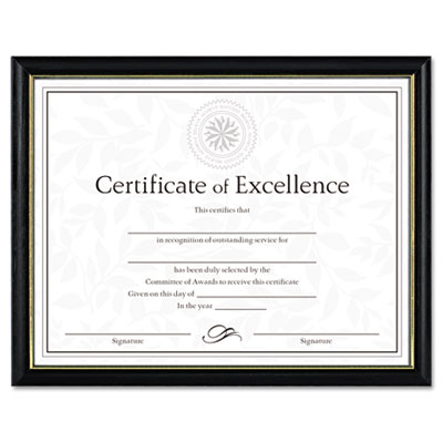 DAX N17981BT Two-Tone Document/Diploma Frame