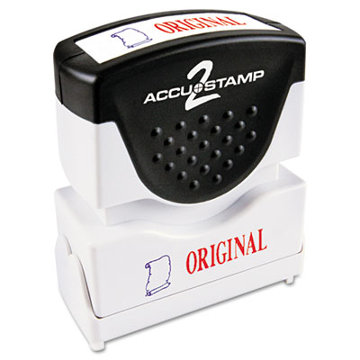 Cosco 035540 ACCUSTAMP2 Pre-Inked Shutter Stamp with Microban