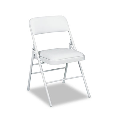 Cosco 60883CLG4 Deluxe Vinyl Padded Series Folding Chair