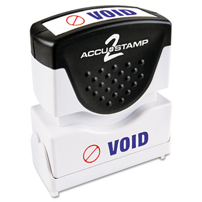 Cosco 035539 ACCUSTAMP2 Pre-Inked Shutter Stamp with Microban