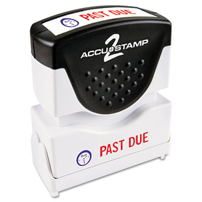 Cosco 035543 ACCUSTAMP2 Pre-Inked Shutter Stamp with Microban