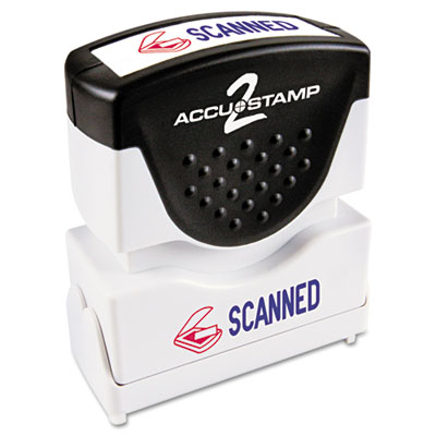 ACCUSTAMP2 035606 Pre-Inked Shutter Stamp with Microban