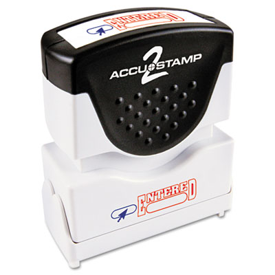 Cosco 035544 Accustamp2 Pre-Inked Shutter Stamp with Microban